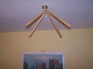 pyramída drevená stropná